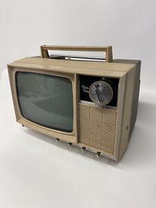 Vintage 1970 S 80 S Midland 9 Inch Black White Television Model