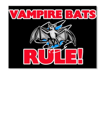 Sticker Landscape Landscape Sticker Details about  /Fun Vampire Bats Rule