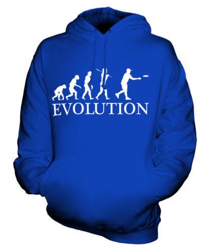FRISBEE EVOLUTION OF MAN UNISEX HOODIE  Herren Damenschuhe LADIES GIFT GIFT S