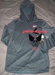 Nike elite men basketball hoodie 829352 392 reflective