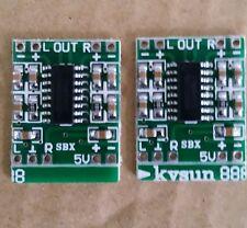 2pcs PAM8403 Mini 2 Channel 3W Audio Power Amplifier Module Board USA Seller