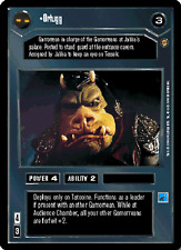 Near Mint//Mint JABBA/'S PALACE star wars ccg swccg Leslomy Tacema
