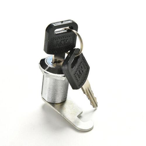 Cabinet Cam Locks 16//20//25//30mm Locker Door with 2 Keys  LD Mailbox Drawer