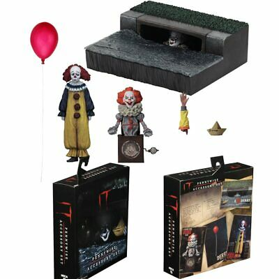 7″ Action Figure Model Toy NECA IT Pennywise Accessory Set Stephen King IT 2017