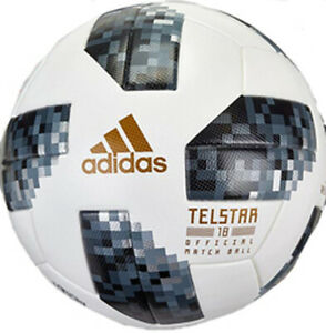 adidas 2018 FIFA World Cup Russia Telstar 18 Official Match Ball Size 5 - White