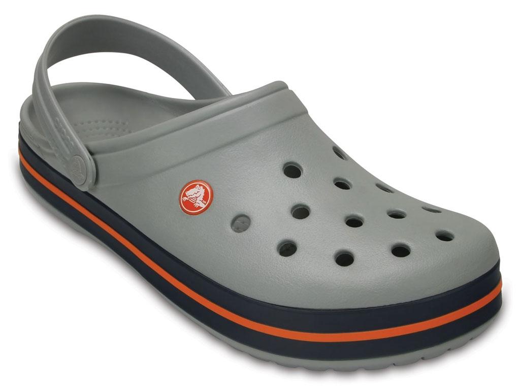 Crocs crocband donna grigio chiaro ciabatte mare uomo donna crocband sandali gomma piscina 68d4fd