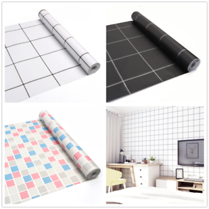 10m Self Adhesive Kitchen Livingroom Wallpaper Roll Shelf Liner Contact Paper Ebay