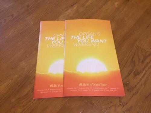 Oprah The Life You Want Weekend Program/Workbook