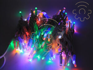 Rgb Led Christmas Lights.Details About Serie 300 Christmas Lights Rgb Led Multicolor 30 Mt Chain With Flash For Estern