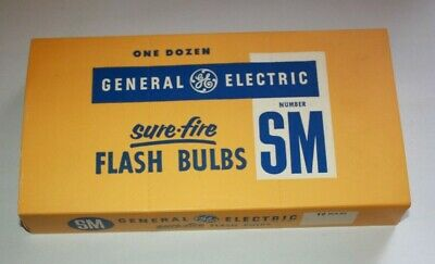 NOS GE General Electric RHENIUM  Flash Bulbs Number # 5-1 Box of 12