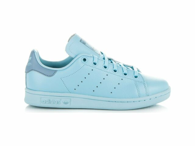 new style 5845e 410aa adidas Stan Smith Big Kids By9983 Ice Tactile Blue Athletic Shoes Youth  Size 6