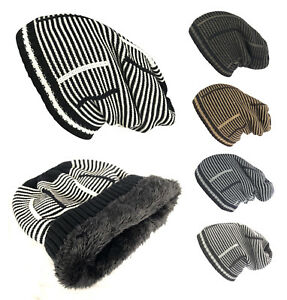 a98dbed10a14e2 Unisex Women Men Winter Thick Baggy Slouchy Beanie Knit Oversized ...