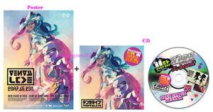 SPLATOON LIVE IN MAKUHARI Shioka Live CD w// Squid Sisters Callie Marie Poster