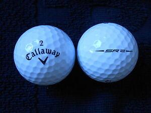 10-CALLAWAY-034-SR2-034-BLACK-TICK-2017-18-MODEL-Golf-Balls-034-A-034-Grade