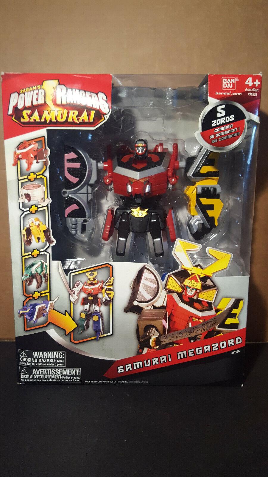 Power Rangers 2011 Samurai Megazord in Box