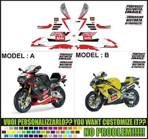 kit adesivi stickers compatibili rsv 1000 r 2003