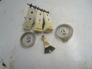 Original-Wollensak-T-1500-Parts-Only-Knobs-Buttons-Switch