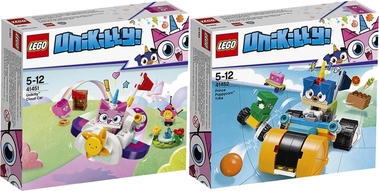 LEGO Unikitty 41451 41452 UNICORNO-Kitty nuvole auto Einhorn-CAGNOLINO n6/18