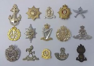 Genuine-British-Other-Military-Metal-Hat-Cap-Collar-Badges-Assorted-Faulty