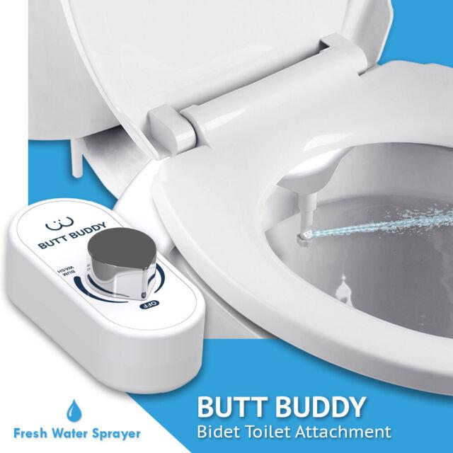 In My Bathroom Butt Buddy Bidet Toilet Attachment Fresh Water Cleaning For Sale Online Ebay