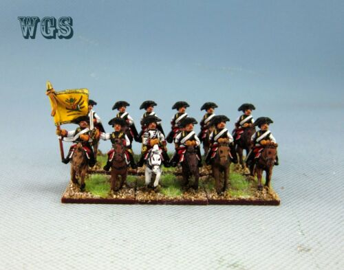 15mm WGS Seven Years War SYW painted Austrian Cuirassier AB6
