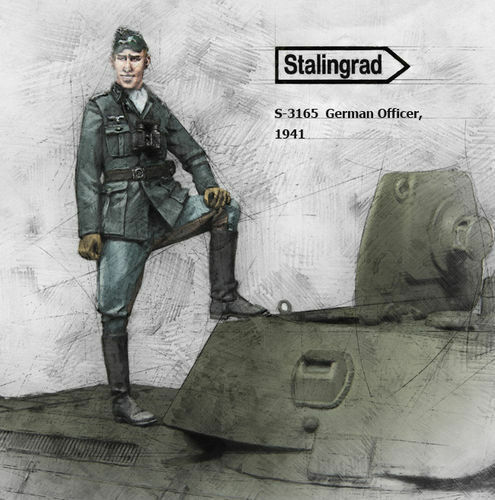 STALINGRAD GERMAN OFFICER 1:35 S3165