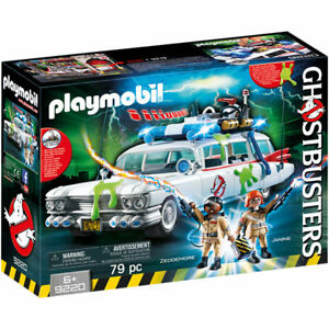PLAYMOBIL-Ghostbusters-Ecto-1-with-Lights-and-Sound-Ghostbusters-9220