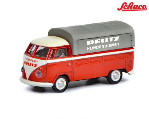 Schuco 452641000 VW t1b Deutz servicio posventa 1:87 nuevo en OVP
