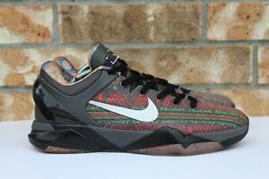 Men s Nike Zoom Kobe VII 7 BHM Black History Month Grey Black Sz 9.5 ... 301dce548