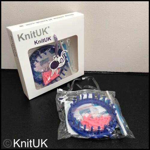 22 Clavijas Clavijas Knituk Redondo Azul Tejer Telar 22 Extra