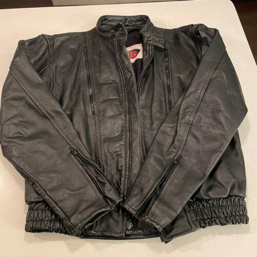 Vintage Z1R Motorcycle Jacket Z1R Insulated Black