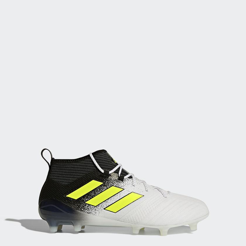Nuevo Para Hombres Adidas ACE 17.1 FG botas de fútbol UK Talla 9.5 Profesional Negro