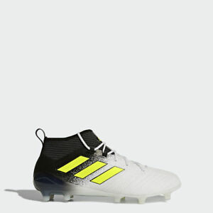 size 40 3c930 3392b Details about NEW Men's Adidas Ace 17.1 FG UK Size 9.5 Professional  Football Boots Black