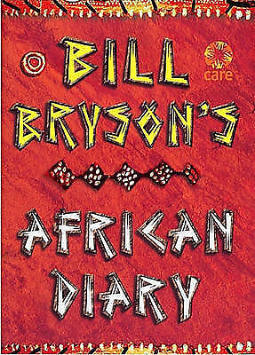 Bill Bryson African Diary, Bill Bryson - Hardcover Book
