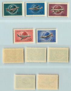 La-Russie-URSS-1958-SC-2147-2151-neuf-sans-charniere-rta2788
