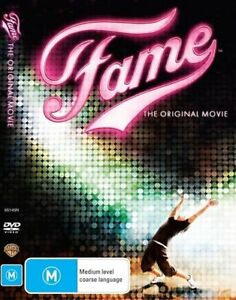 Fame-DVD-Australian-Region-4-FREE-POSTAGE-IN-AUSTRALIA