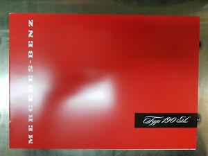 Verkaufsprospekt-Prospekt-Katalog-Mercedes-Benz-W121-190SL-NEU