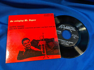 Shorty-Rogers-amp-His-Giants-45-EP-The-Swinging-Mr-Rogers-Atlantic-539-PS-VG