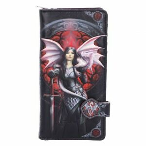 Anne-Stokes-embossed-purse-amp-wallet-featuring-the-Valour-design