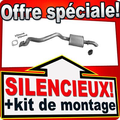 Silencieux arriere SSANGYONG REXTON 2.7 Xdi 163-165CH Silencieux 2A4