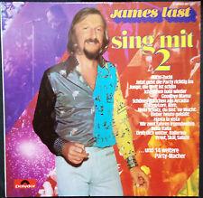 JAMES LAST - SING MIT 2 VINYL LP GERMAN PRESSING