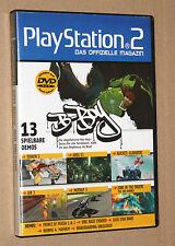 Playstation 2 Das offizielle Magazin Demo DVD Tekken 5 Jak 3 etc 08/2006