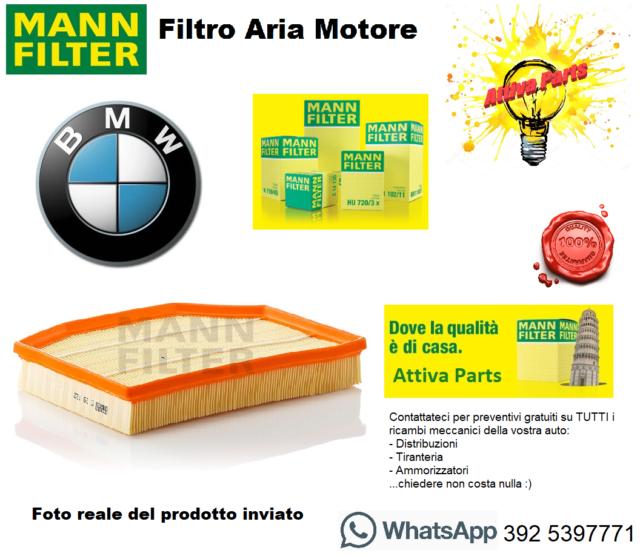Per Automobili Originale MANN-FILTER Filtro Aria C 29 132