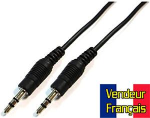 Câble Audio Mini-Jack 5m VENDEUR FRANÇAIS