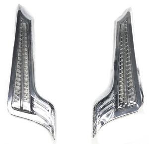Ciro Rear Filler Panel LED Lights Chrome (40024)