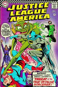 Justice-League-of-America-49-Nov-1966-DC-Very-Good