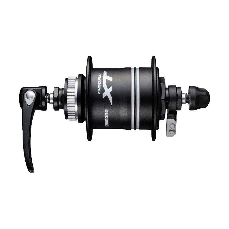 Shimano XT dh-t785 1,5d DÍNAMO DE CUBO cierre central 1,5 W 36 HOYOS black