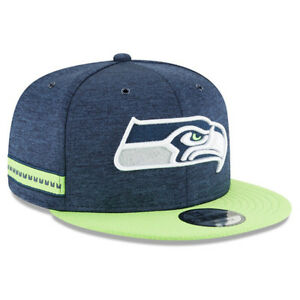 New-Era-Uomo-Seattle-Seahawks-9-Cinquanta-Cappellino-con-Visiera-Blu-Navy