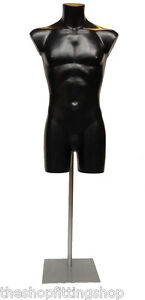 m le mannequin de pr sentation sur pied ajustable v tements de sport ebay. Black Bedroom Furniture Sets. Home Design Ideas
