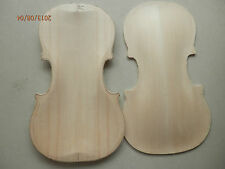 4/4 violin old spruce top half finished